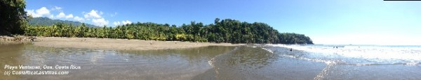 Playa Ventanas costa rica panoramic
